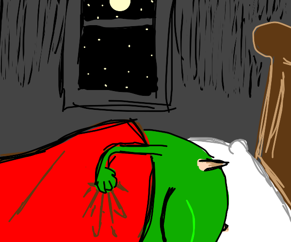 Monster is going to sleep
