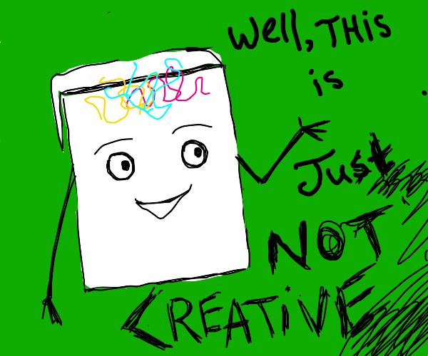 dont hug me im scared   notebook