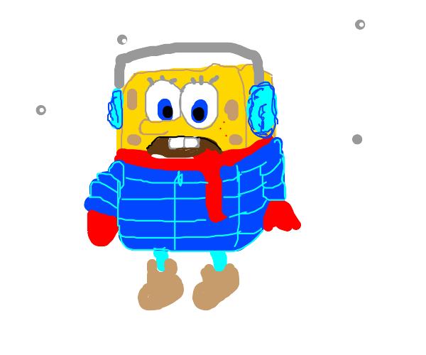 Spongebob in Antarctica