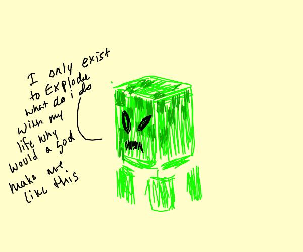 creeper Steve's existential crisis