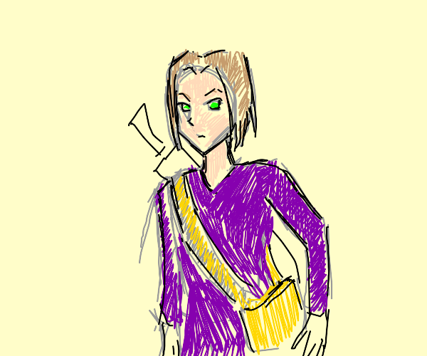 The luminary from dragon quest 11