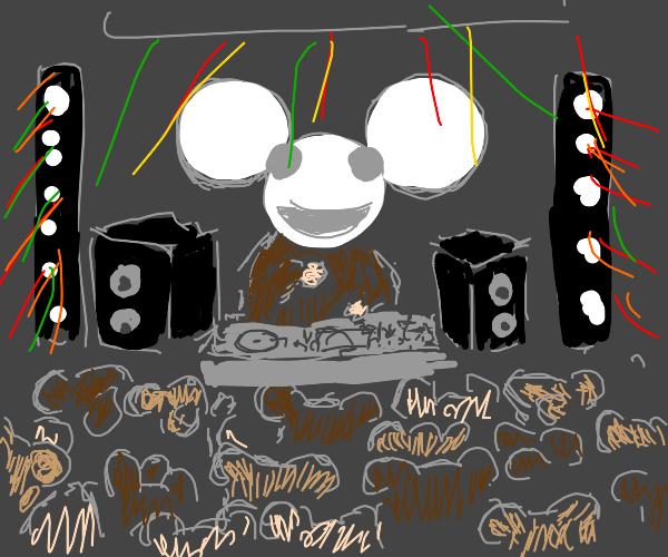 Deadmau5 but actual mice