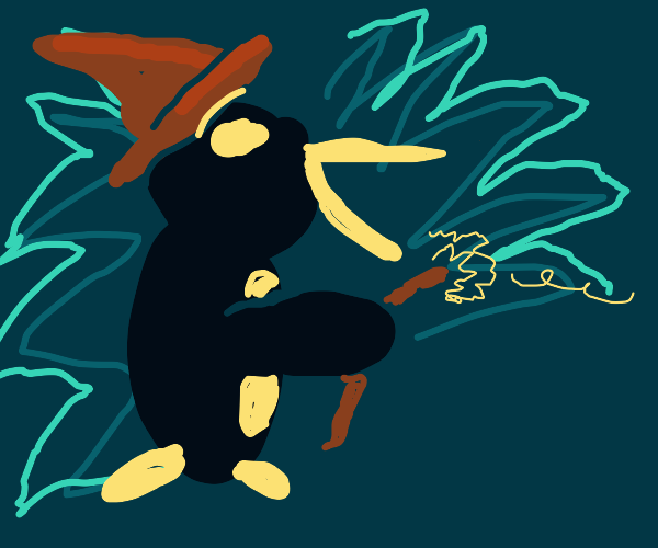 penguin wizard