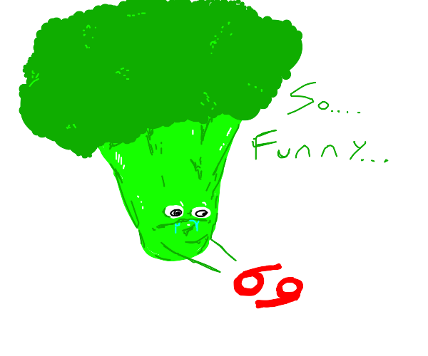 broccoli has a NICE number