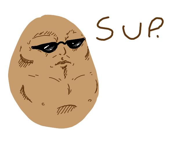 Very cool potato