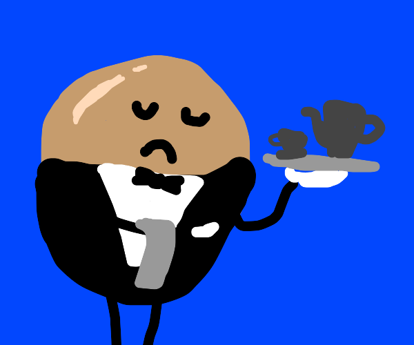 Gentlemanly Egg is your Butler