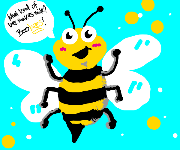 Bee says funny quote
