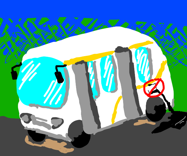 Bus without oil