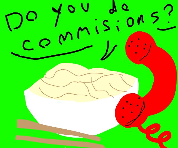 Noodles hiring Artist