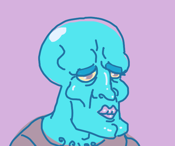 nice looking squidward