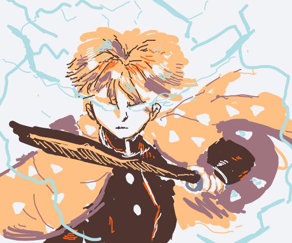 Avatar/Anime with hair and lightning?