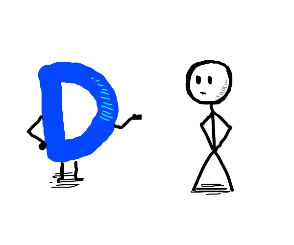 Drawception D talks to Stickman