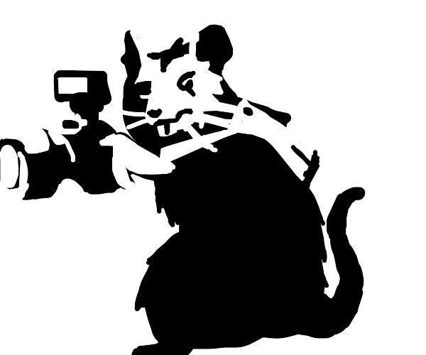 Rat Painting