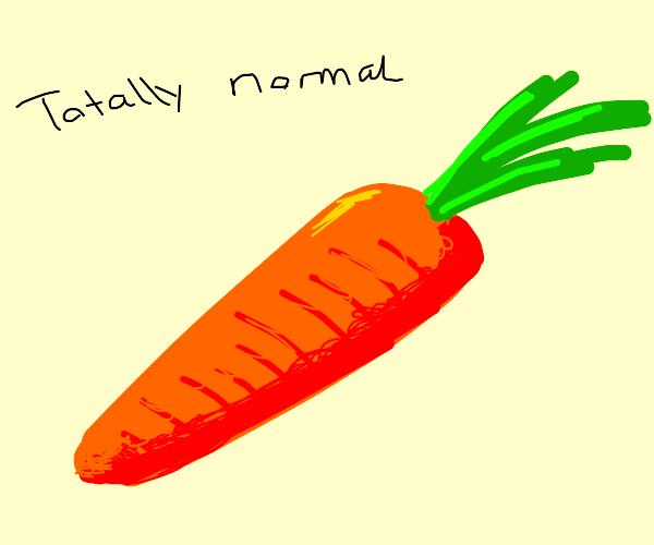 a normal carrot