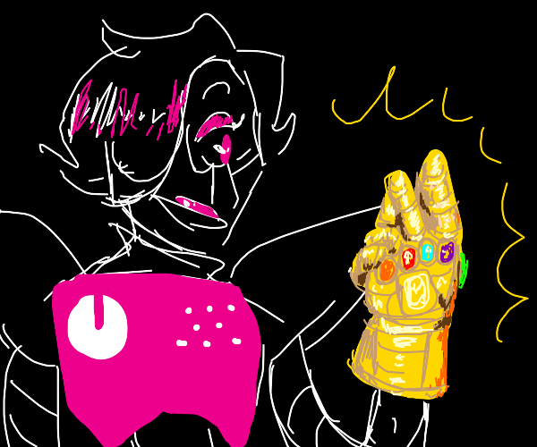Evil Robot has control of the infinity stones