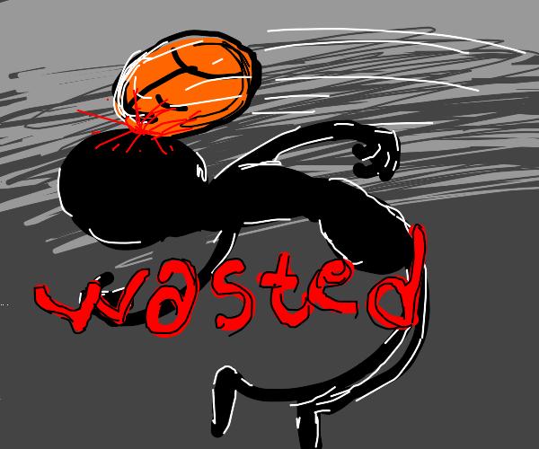 death by basketball
