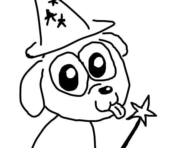 puppy wizard!