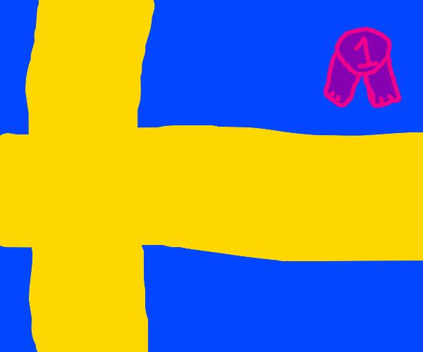 sweden is #1