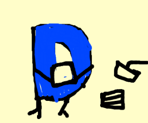 The drawception logo playing a card game.