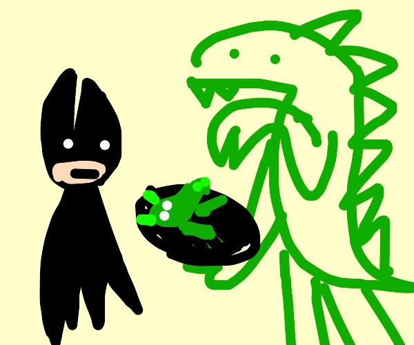 batman and gorilla make a lovechild