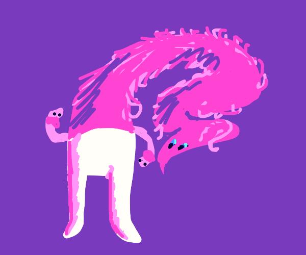 Worm man