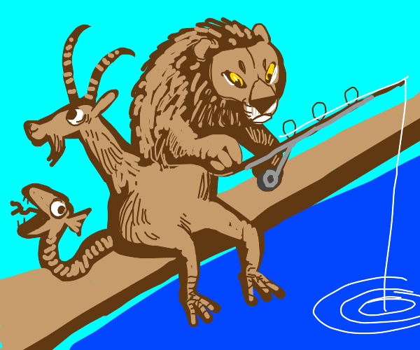 Fishing chimera