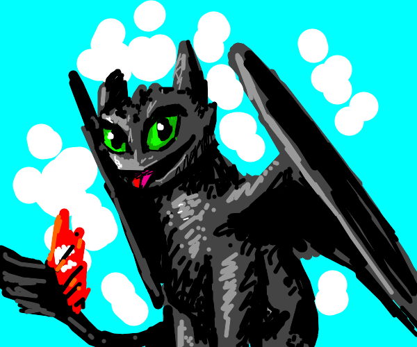 Toothless, the dragon
