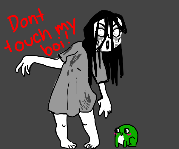 Ghost woman will murder you (or a frog)