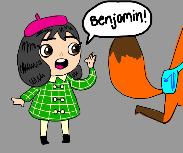 Little misfortune searches for Benjamin