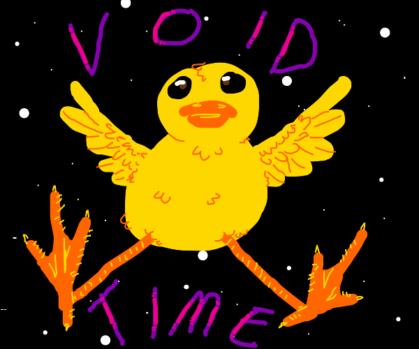Duck in the void