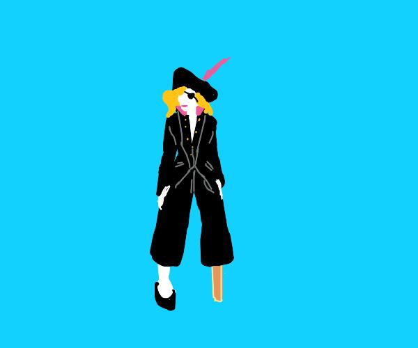 Badass pirate lady