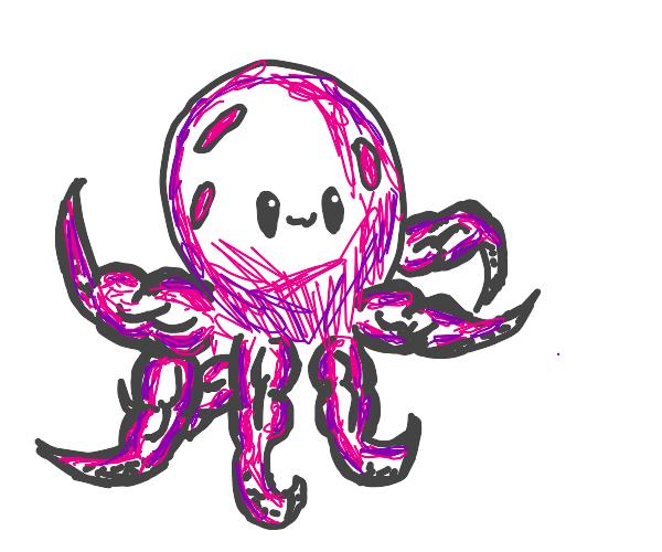 Buff octopus