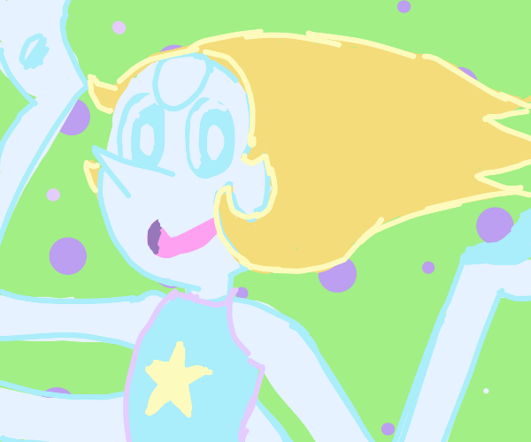 Pearl (SU) but with long hair and 4 arms