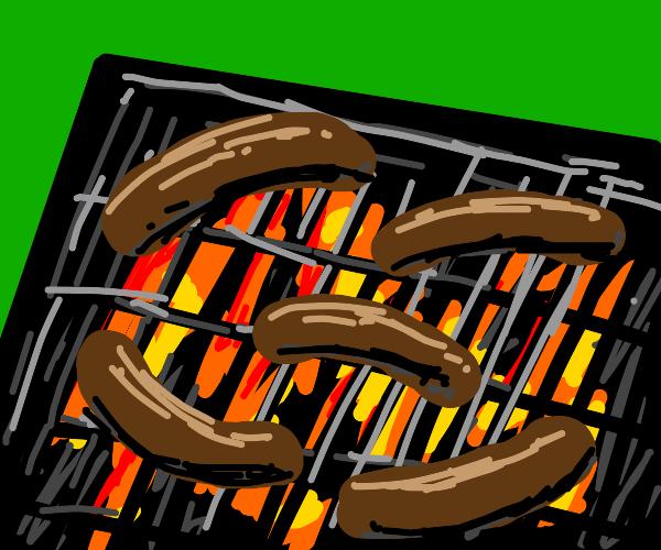grilling sasuges