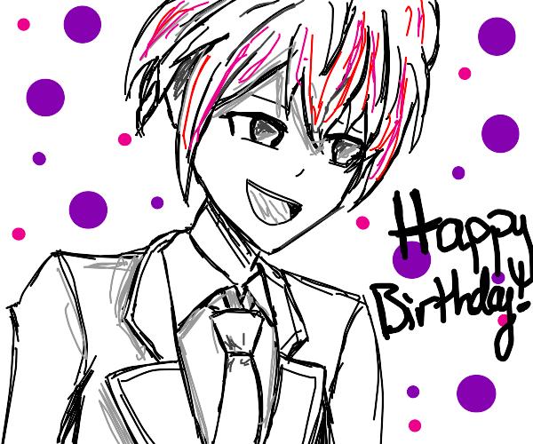 Happy Birthday Tsukasa!