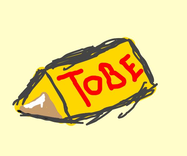 Toblerone bar