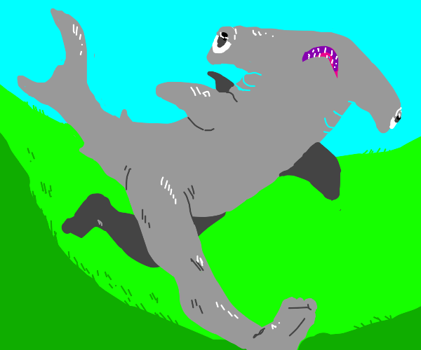 Shark with legs-- landshark