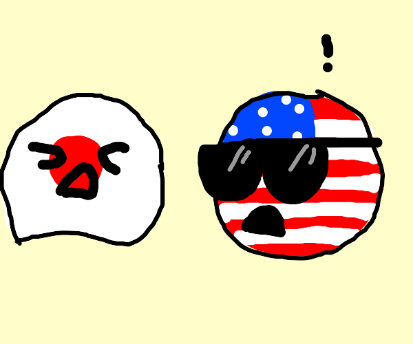 Japan suffers while America is always in pain