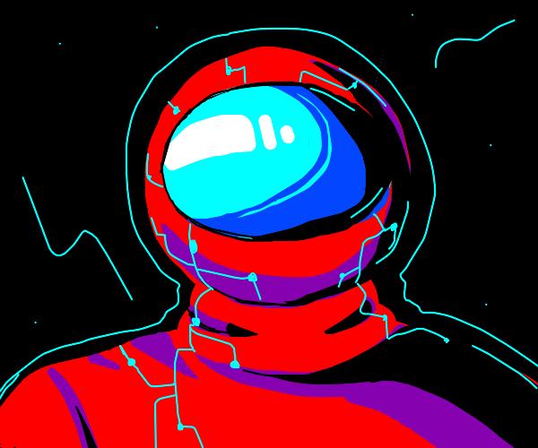 Futuristic Astronaut