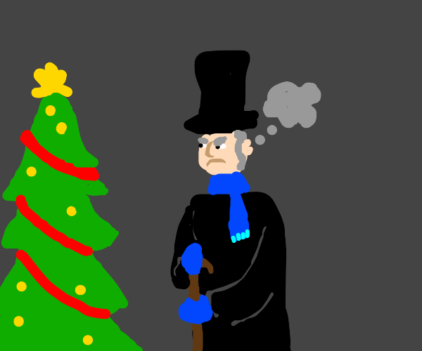 Scrooge from Christmas Carol