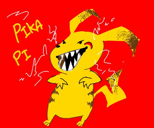 Man-Eating Pikachu