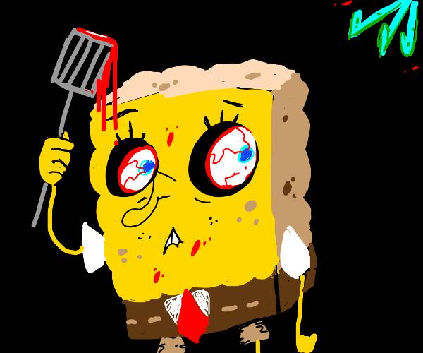 Spongebob is secretly a serial killer