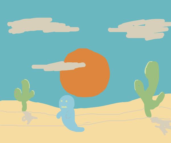 the ghost of the sahara desert