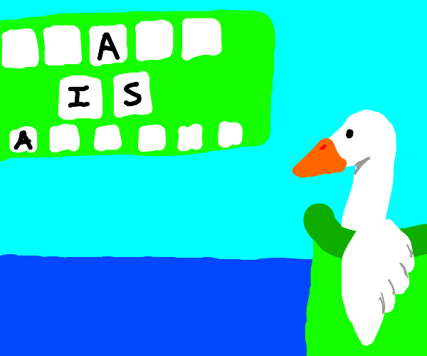 Goose Guessing Game Show