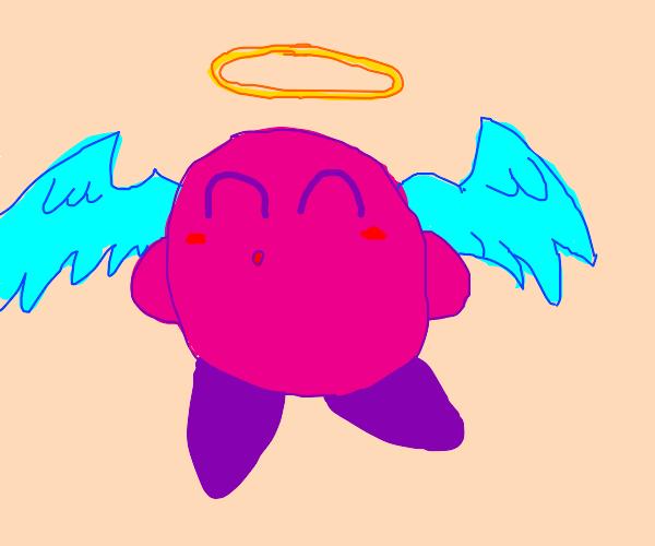 Kirby ate an angel