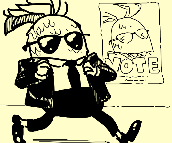 Cool mayor pineapple