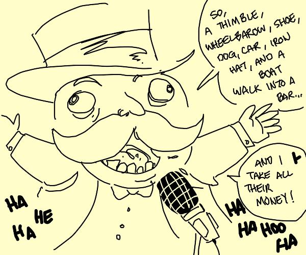 Funny Monopoly man
