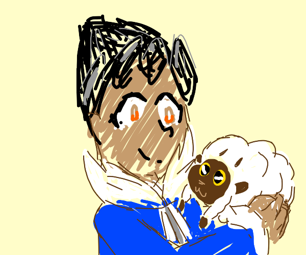 Hop and his Wooloo