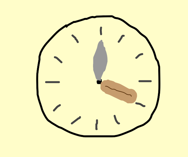 It's Sausage O'Clock!