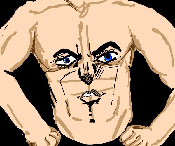 Torso with Jojo face and limbs